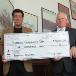 First Savings Of Perkasie Presents Check – Thank you!