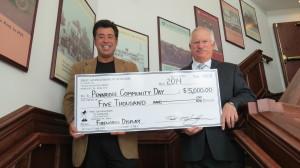 Pennridge Community Day Check 3-`14 002
